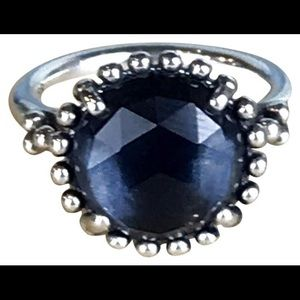 Pandora midnight blue ring